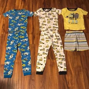Carter's Boys Size 5T Pajamas (3 sets)